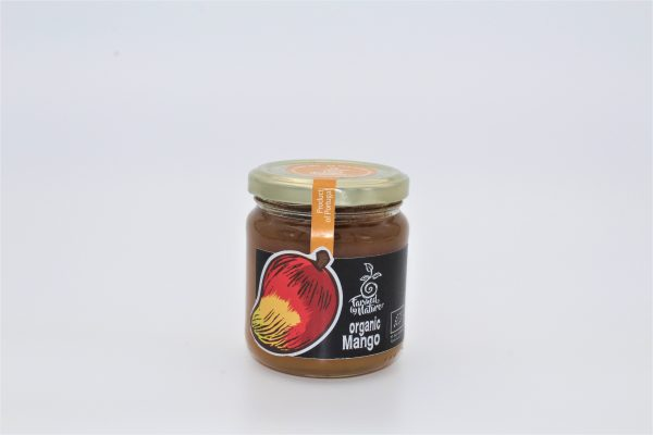Mango jam. Farmed by nature