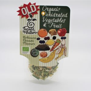 Organic dehydrated vegetables Farmed by nature